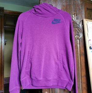 Purple Nike Hoodie